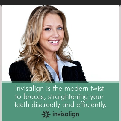 Invisalign® is the modern twist to braces, straighten your teeth discreetly and efficiently with Invisalign in Burke, VA by Dr. McMillan