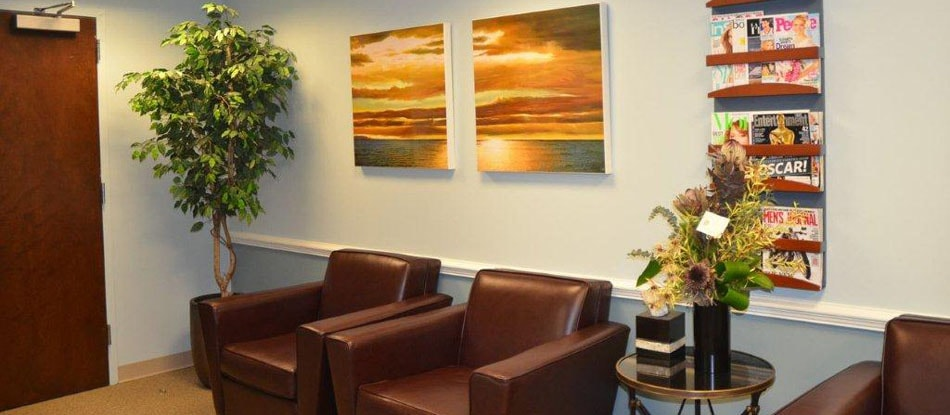 Your Burke Dentists' waiting room